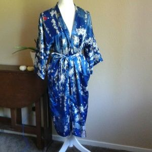 Other - Blue 'silky' robe